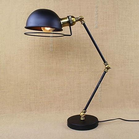 Pointhx Lámpara de Escritorio del LED Lámpara de Mesa Antigua ...