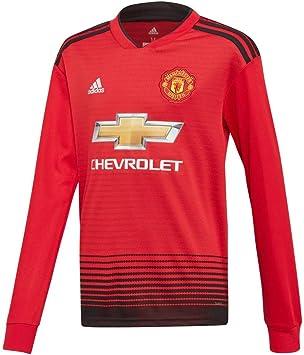 : adidas 2018 2019 Man Utd Home Long Sleeve