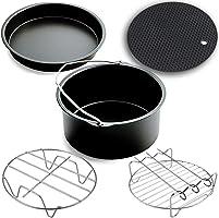 Air Fryer Accessories,Phillips Air Fryer Accessories and Gowise Air Fryer Accessories Fit all 3.7QT-5.3QT-5.8QT,Set of...