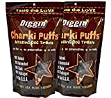 2-Pack Diggin' Your Dog Charki Puffs Amazing Dog Treats Review