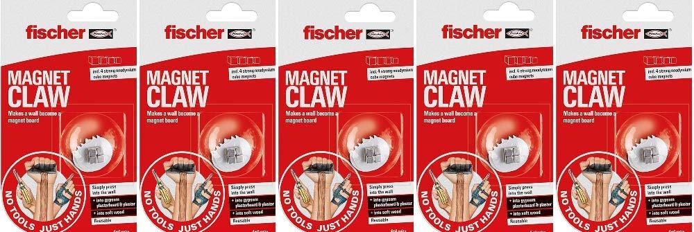 Fischer DUOPOWER DUOBLADE GKM No Tools Just Hands Negro soporte de pared para pantalla plana