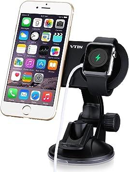 Dual Stand Dock de magnético de VTin para Coche Soporte de Smartphone para Huawei,Xiaomi,Apple Watch, iPhone 6/6 Plus, HTC, Sony etc: Amazon.es: Electrónica