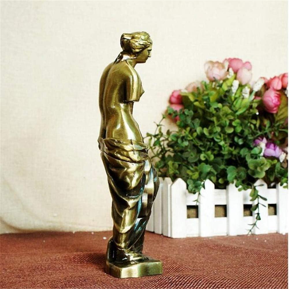 Imax/® 7.5 Pouce Bronze V/énus De Milo Fait Main Art Statue,D/éesse de lamour Grec Romain Mythologie Accueil Bureau D/écor Figurine Sculpture