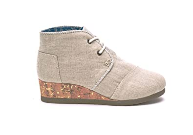 9ec630994ff Image Unavailable. Image not available for. Color  TOMS Kids Womens Desert  Wedge Bootie