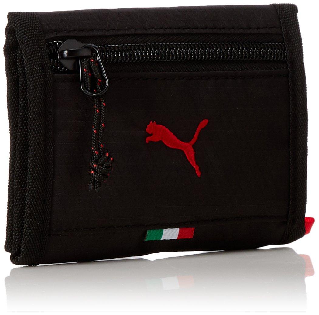 Porte-monnaie Noir Ferrari Pumas qry9S3BYjw