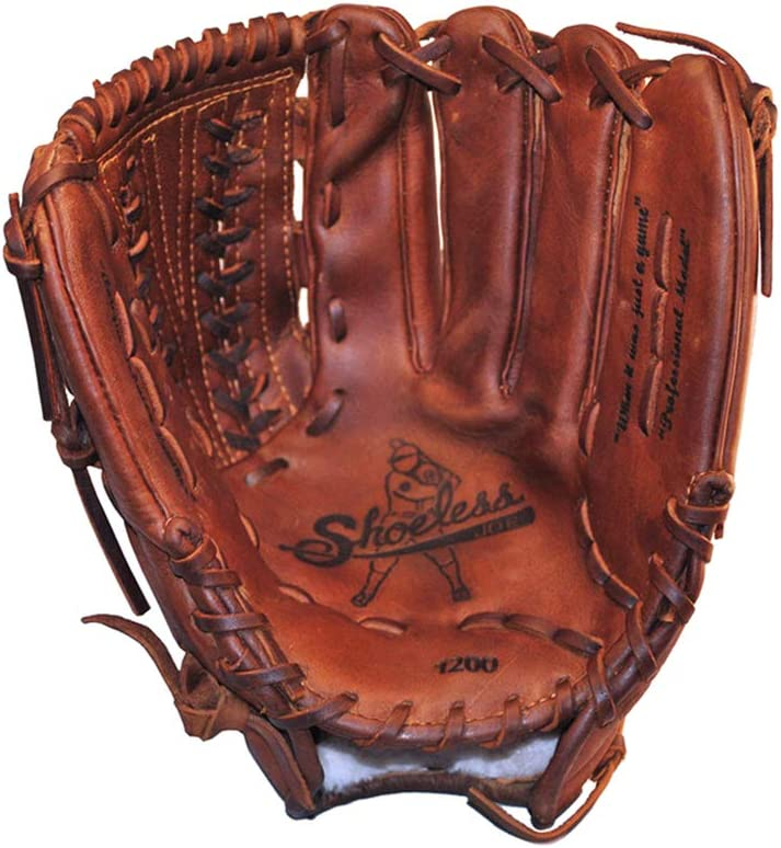 SHOELESS JOE Proffesional Series V-Lace Baseball Glove