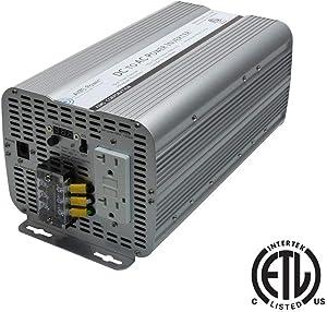 AIMS Power PWRINV300012120W Sine Power Inverter ETL Certified to UL 458