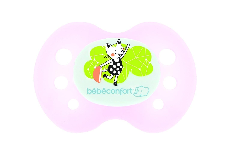 Bébé Confort chupetes Conjunto de 2 reversible silicona Rose ...