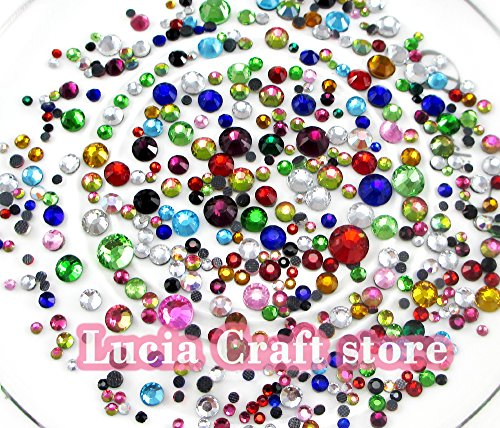 Hot Fix 2mm Rhinestones - 4