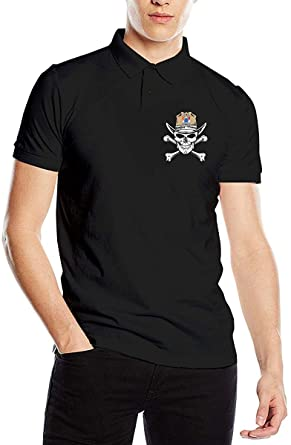 Camiseta Polo de Manga Corta con Estampado de Calavera de New ...