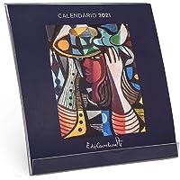 CALENDÁRIO MESA, Teca, 30001020021 - DI CAVALCANTI - 2021