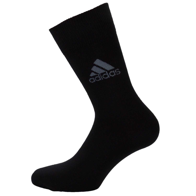 Black adidas Corp Crew Socks