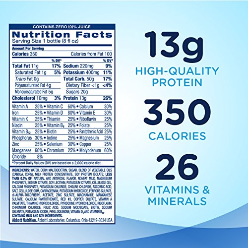 Ensure Plus Nutrition Shake With 13 Grams Of High Quality