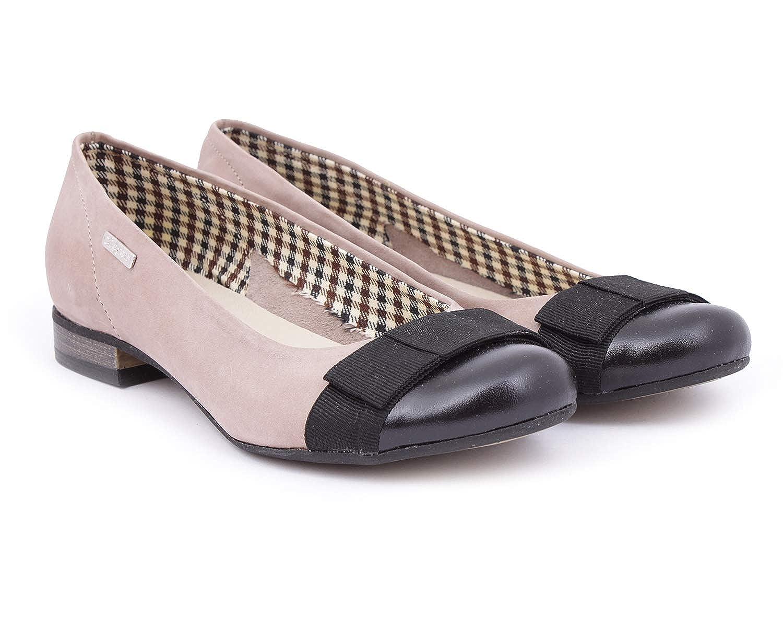 Zapato 007 Damen Ballett Braun Braun Braun - Cappuccino - Größe  EU 38 d5887b