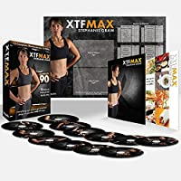 XTFMAX: 90 Day DVD Workout Program with 12 Exercise...