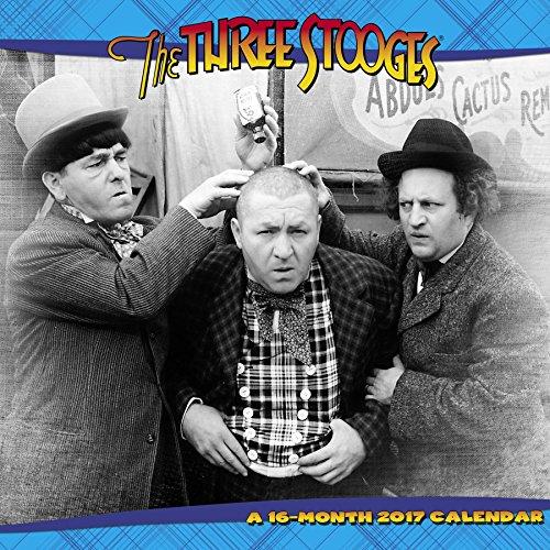 The Three Stooges Wall Calendar (2017) ()
