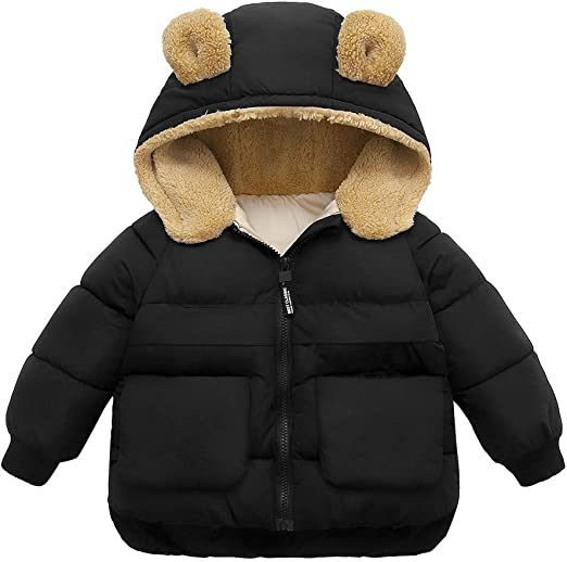 1PC Toddler Newborn Baby Boys Girls Panda Cartoon Hooded Rompers Outfits Clothes