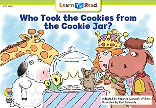 Who Took The Cookie From The Cookie Jar Book Delectable Who Took The Cookies From The Cookie Jar Learn To Read Rozanne