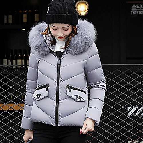Women Thick Cardigans Long Hoodies Gray Sweatshirt Coat HOMEBABY Overcoat Jacket Lammy Warm Parka Elegant Winter Hooded Cotton Casual Coat Outwear Pocket Ladies Down Windbreaker dAABYxq