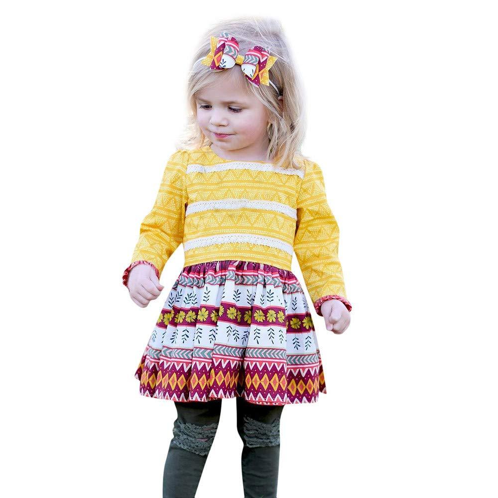 Hattfart Toddler's Clothes DRESS ガールズ 90  B07HHRRVXN
