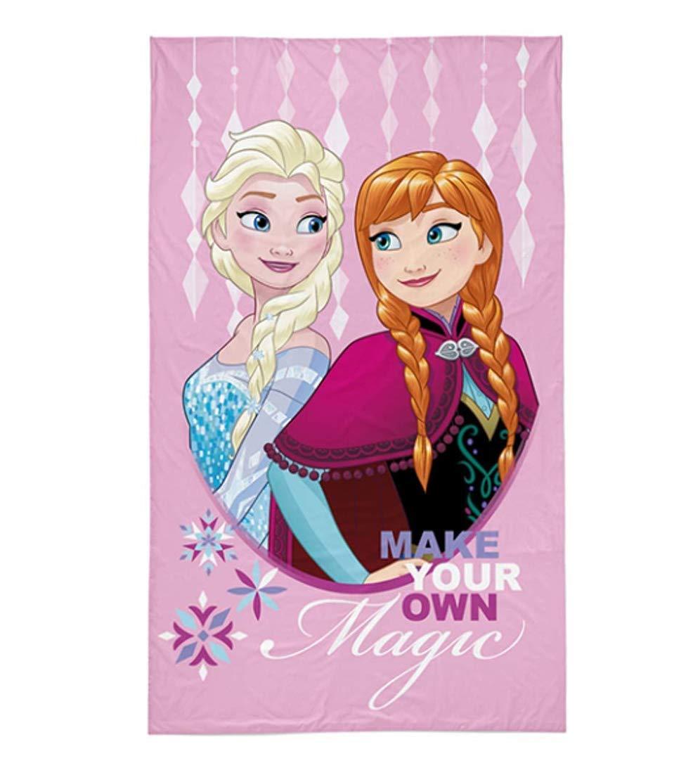 regalo ideal para ni/ñas 4 toallas de mano para invitados o invitados 100/% algod/ón Theonoi Frozen 30 x 30 cm