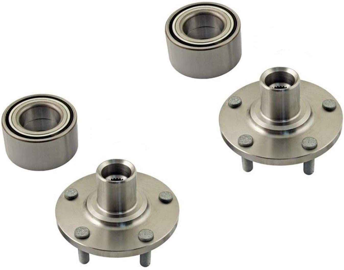 Replaces Hub81 510110 2 DTA Front Wheel Hub Wheel Bearing Repair Kits Left and Right Compatible with 2012-2018 Ford Focus C-Max