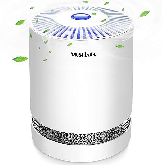MOSFiATA Purificador de Aire, ambientador con Filtro HEPA Activo ...