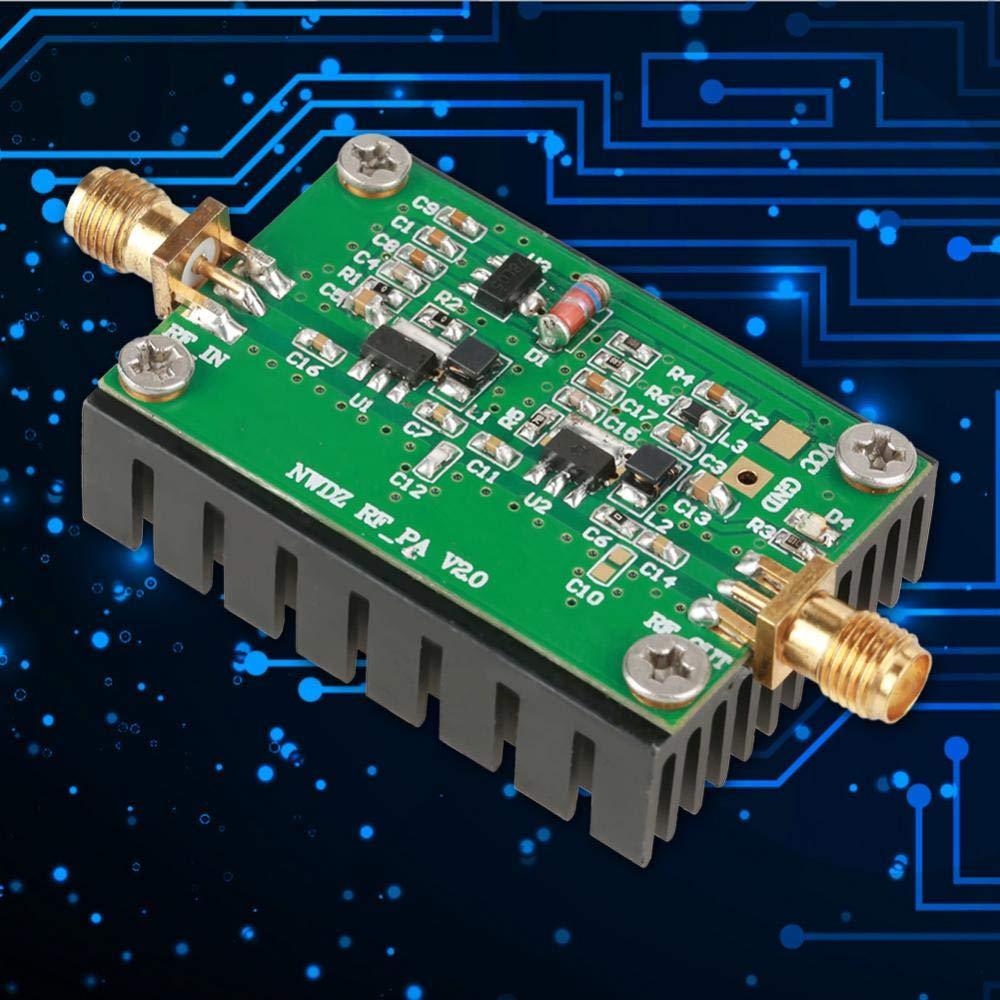 Aufee Amplificateur de Puissance RF amplificateur de Puissance RF pour Radio 2MHz-700MHZ 3W HF VHF UHF /émetteur /émetteur FM Amplificateur de Puissance RF