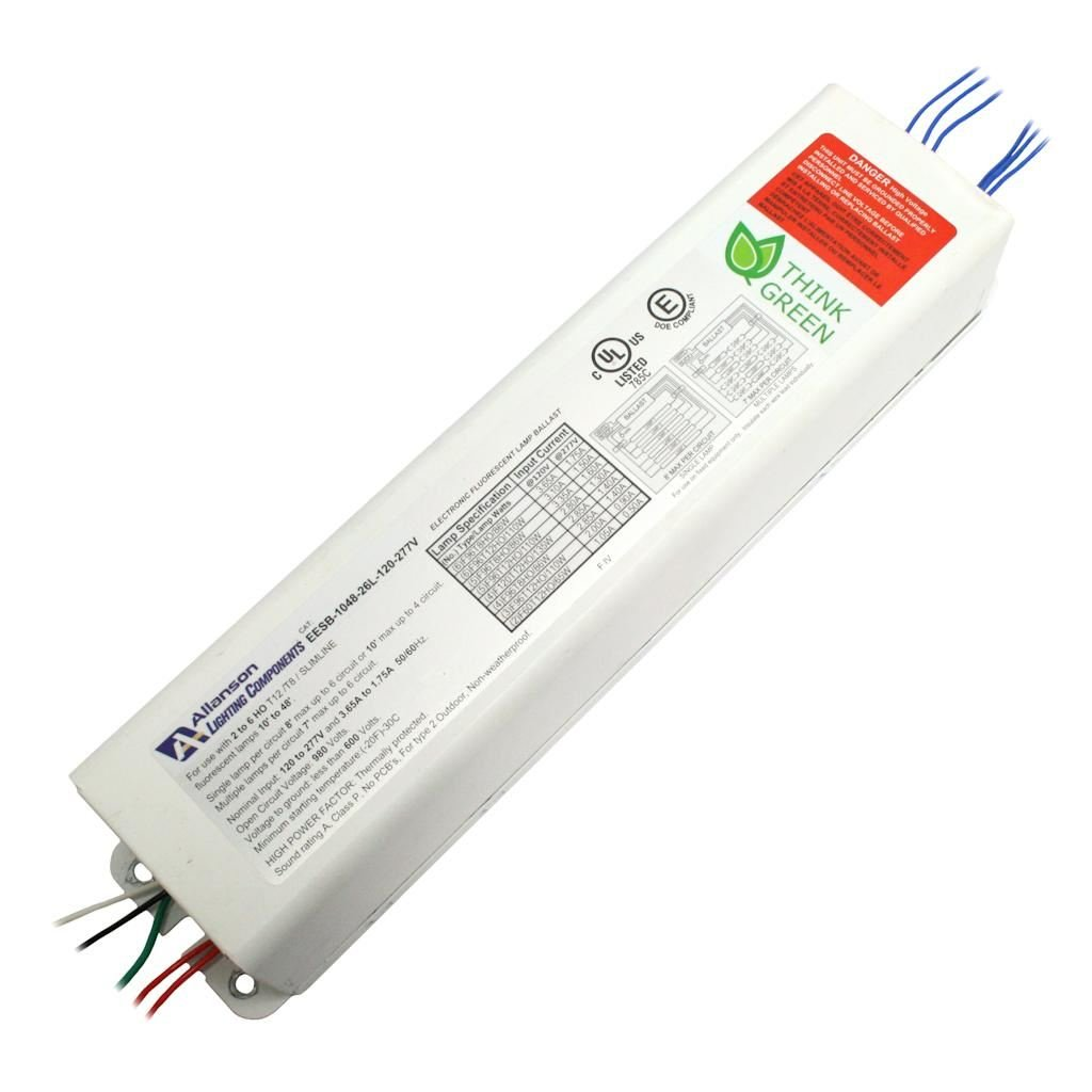 Lighting Components, Inc 104826 - EESB-1048-26L T12 Fluorescent Ballast by Allanson