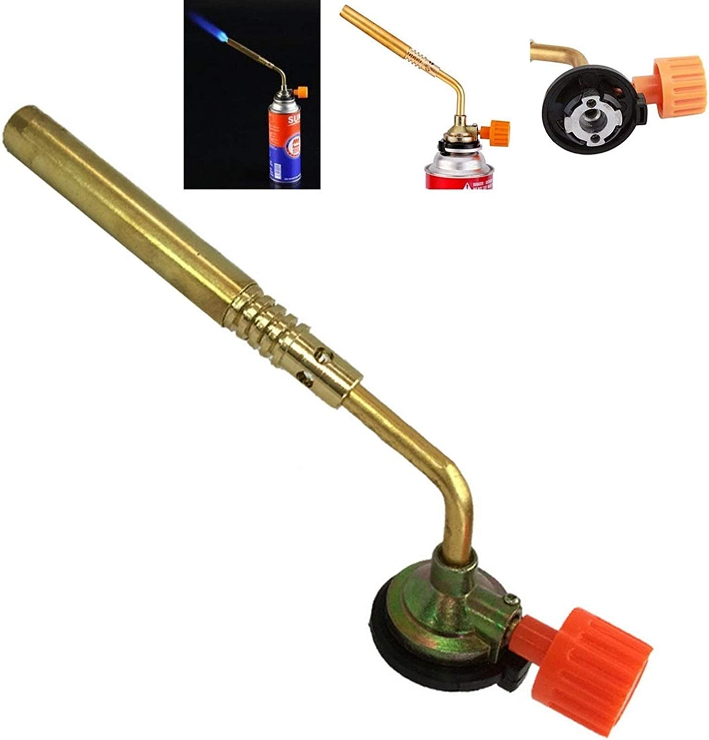 Cooking Torch Adjustable Flame Lighter Camping Welding Flame Thrower BBQ New