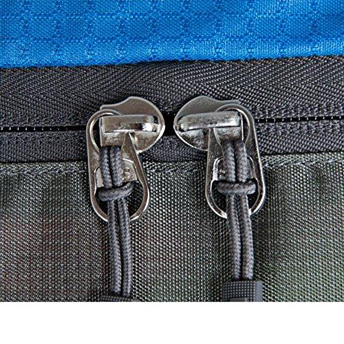 Sincere® Verpackung / Rucksäcke / Mobil / Ultrawasserdichte Wanderbeutel / 70L Outdoor-Rucksack / Beutel der großen Kapazität / Outdoor-Kletter package-blau 70L
