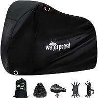 ZCOINS Waterproof Bike Cover, Bike Covers for Outside Storage, 210T Extra Heavy Duty Waterproof Anti Rain Dust UV…