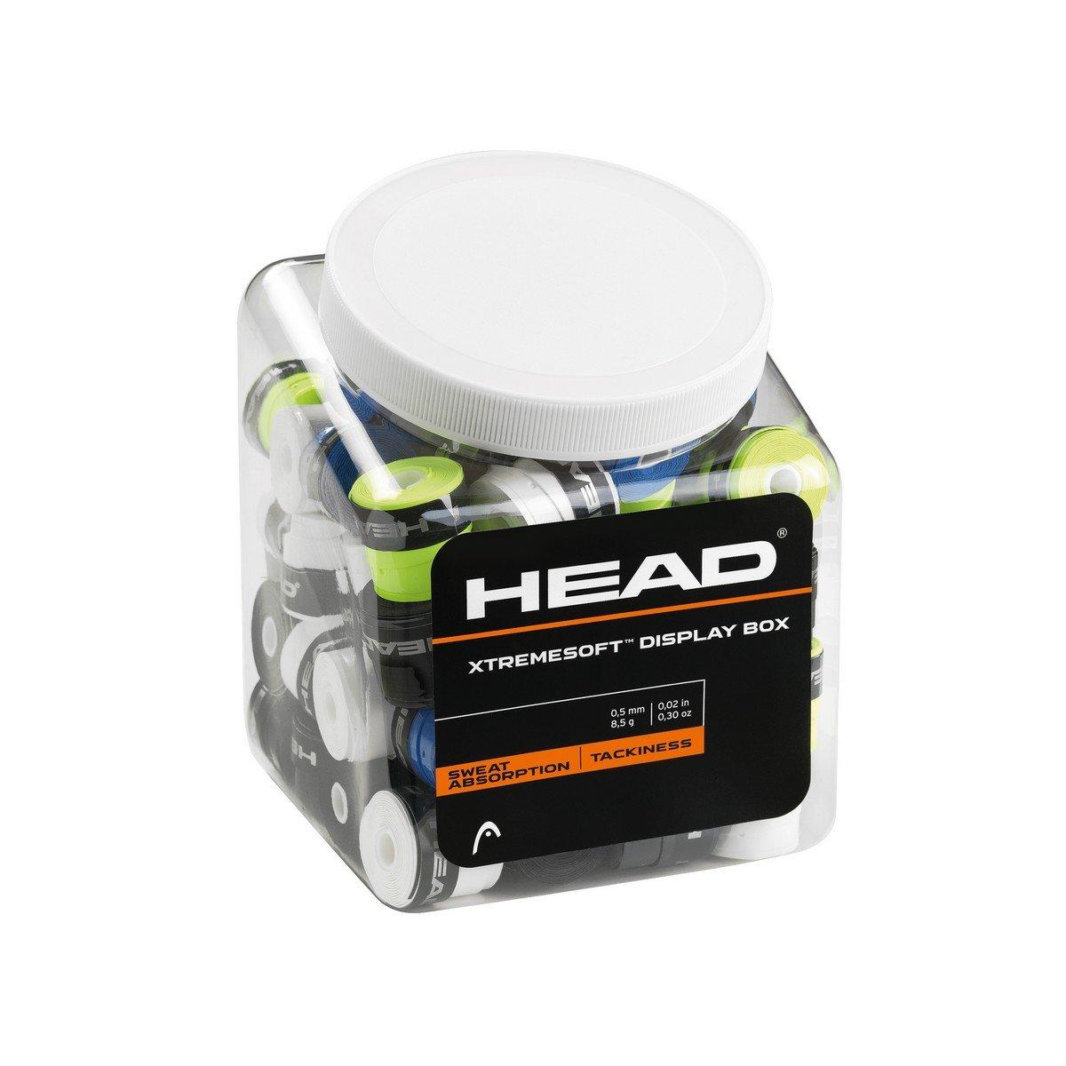 Head Xtremesoft Display Box Pack de Overgrip, Unisex Adulto, Negro, S: Amazon.es: Deportes y aire libre