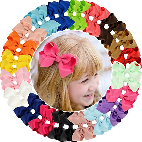 (40pcs Baby Girls Clips 3
