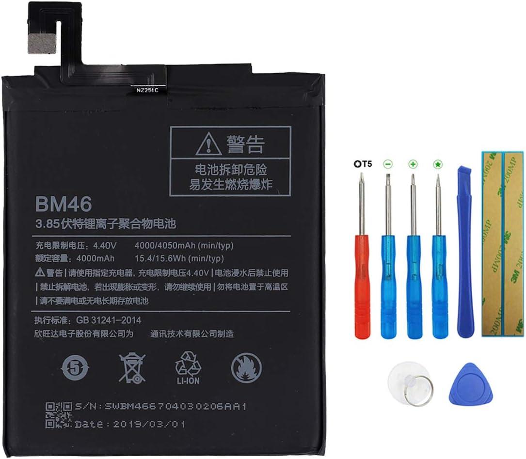 Swark BM46 - Batería compatible con Xiaomi Redmi Note 3 y Pro (con herramientas)