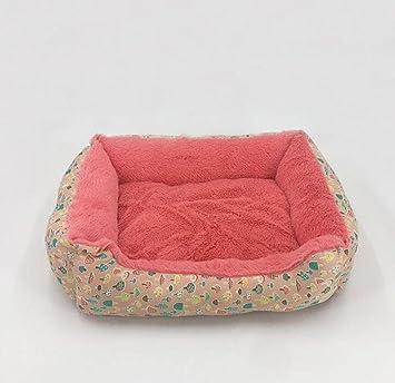 WYXIN Cama para mascotas pequeña, mediana y grande, nido de perro, sofá caliente