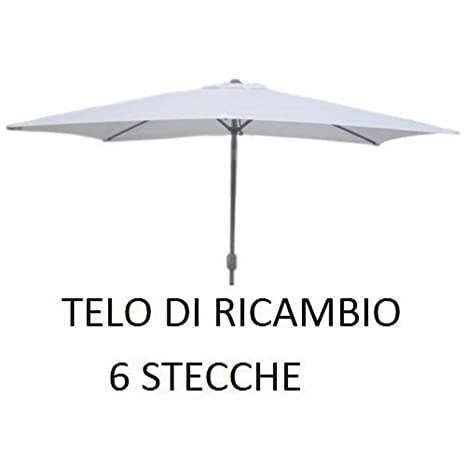 Ricambi Per Ombrelloni Da Giardino.Top Telo Di Ricambio Per Ombrellone Con Palo Centrale In Alluminio