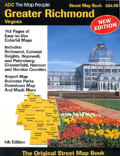 ADC Greater Richmond, Virginia: Street Map Book