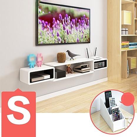Zhang - Estantería de Pared para televisor, Mueble de TV, estantes de Pared para Sala de Estar, particiones de Pared (múltiples Estilos Disponibles), Protege la Pared, embellece el Ambiente Interior: Amazon.es: Hogar