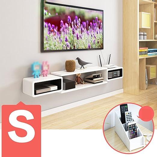 Zhang - Estantería de Pared para televisor, Mueble de TV, estantes ...