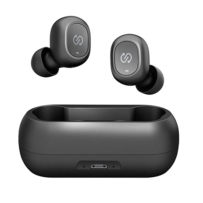 a5ea4c3129b SoundPEATS TrueFree True Wireless Earbuds Bluetooth 5.0 in-Ear Stereo Bluetooth  Headphones with Microphone Wireless