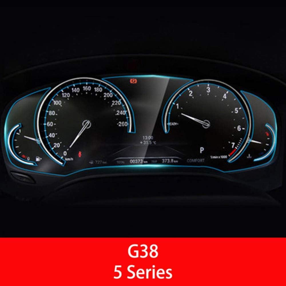 MATBC Auto Instrumententafel Displayschutzfolie Auto Armaturenbrett Schutzfolie F/ür BMW F10 G30 G31 F07 F11 F18 G38 5 Serie