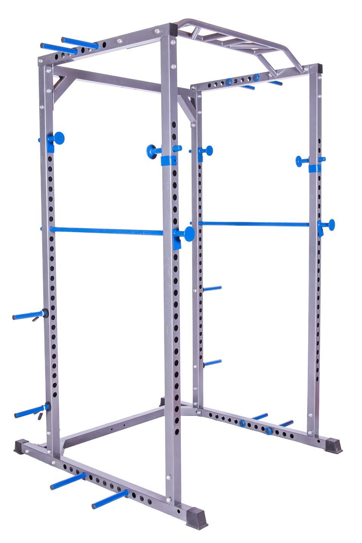 Power Rack y jaula de sentadillas y dominadas resistente para tu ...
