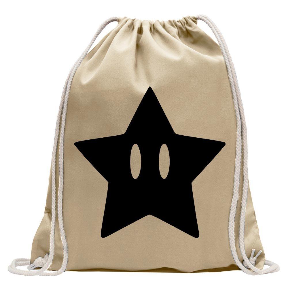 Super star star Fun sport Gymbag shopping cotton drawstring