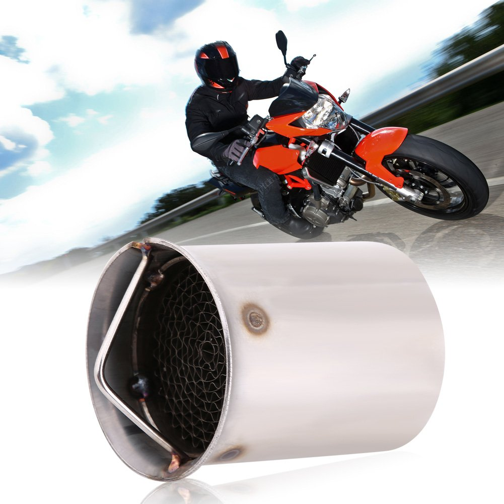 5 Universal 51mm Motorcycle Exhaust Pipe Muffler Silencer DB Killer Noise Eliminator Motorcycle Exhaust Tips Exhaust Silencer