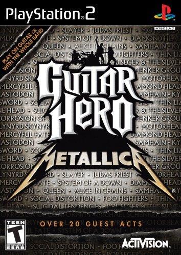 Guitar Hero Metallica - PlayStation 2 by Activision (Metallica Xbox 360)