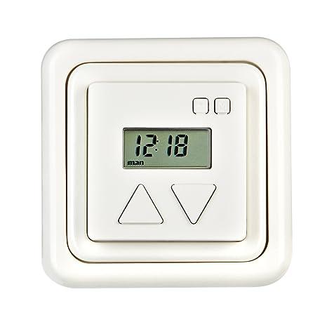 Duomatic 50 BZ G G - Reloj temporizador para motores de persianas, color blanco