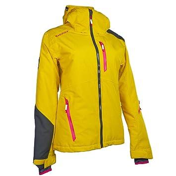 extrem einzigartig Luxus Online-Verkauf ZIENER BRITTA LADY Skicross Damen Skijacke 769 mustard Gr. S ...