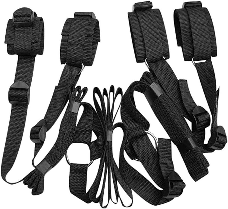 Cinturón de nylon de alta calidad, ropa de cama colcha, tobillos de mano inamovibles, adecuados para juegos de amor entre hombres y mujeres - B23