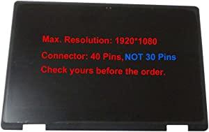 """KREPLACEMENT 15.6"""" Screen Replacement Assembly with Touch Digitizer + LCD Display for Dell Inspiron 15 7579 2-in-1"""
